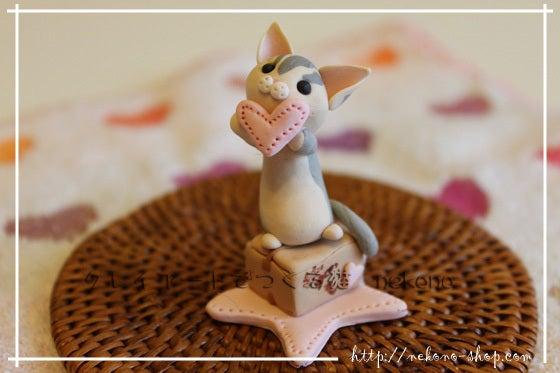 クレイアートでつくる猫 nekonoのブログ-デボンレックスの猫さん