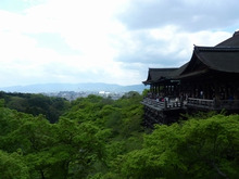 SOCIOが空を飛ぶ-清水寺