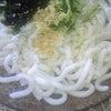 昼食☆冷やしたぬきうどん♪の画像