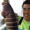 夕釣り一つテンヤマダイ釣果の画像