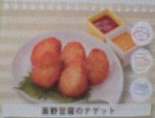 なかよし新聞 外伝 ブログ版-高野豆腐のナゲット