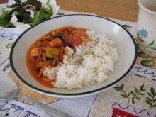 $アラサー独女的 野菜婚活-トマトスープごはん