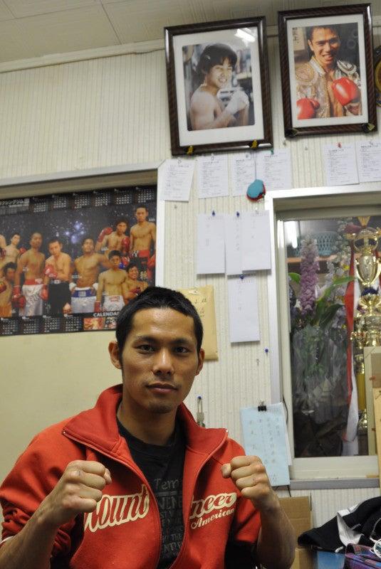 八王子中屋ボクシングジム interview room