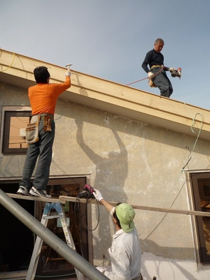 $リノベーションで北海道の豊かな暮らし-札幌リノベーション住宅、屋根外壁
