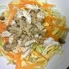 夕食☆ささ身の冷し中華の画像