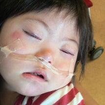 肺炎で入院中ー。