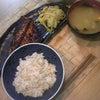 夕食☆金目鯛の粕漬焼き 白菜のお浸し ところてん カボチャのお味噌汁の画像