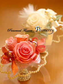 Plumerry(プルメリー)プリザーブドフラワースクール (千葉・浦安校)-ミニブーケ プリザーブドフラワー