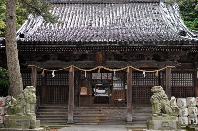 茶々吉とデジ一 のんびり旅-2010/5/30金沢石浦神社