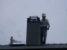 古材流通熊本店のブログ-煙突掃除5