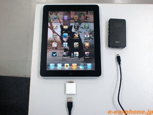 イヤホン・ヘッドホン専門店「e☆イヤホン」のBlog-iPadオーディオ接続例