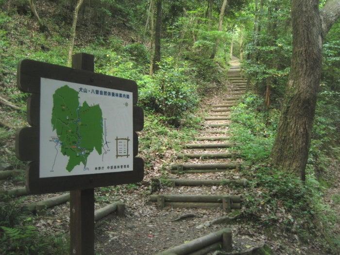 岩見山への入口