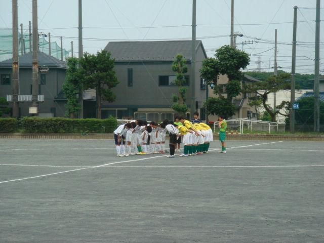 トレーニングマッチ 対藤沢市立...