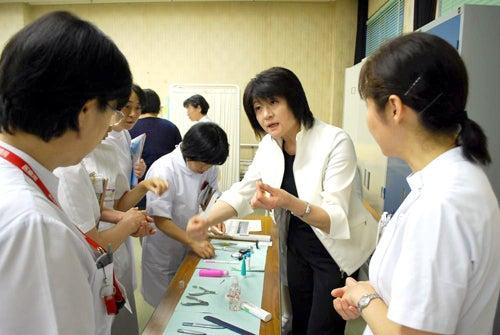 庄内余目病院のブログ-ケア用品説明