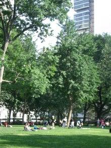 N.Y.に恋して☆-Briant Park June 2010