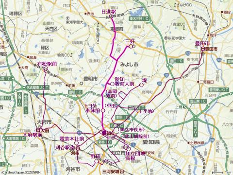 「知立駅」の時刻表/バス乗換案内/路線図/地図 - …