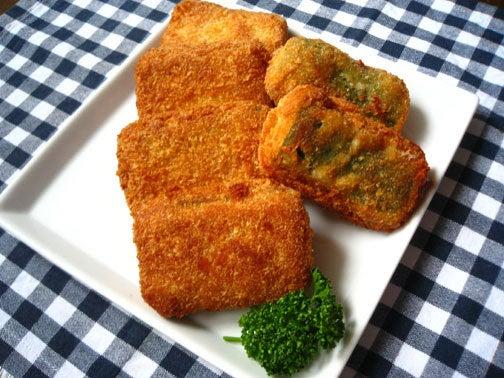 ひよこ食堂-ズッキーニーのチーズはさみフライ01
