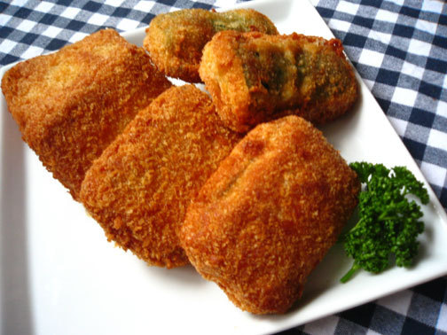 ひよこ食堂-ズッキーニーのチーズはさみフライ02