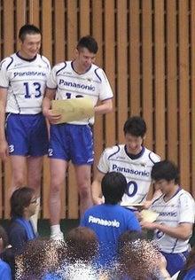 aim *men's Volleyball*-ファン感1
