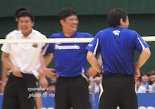 aim *men's Volleyball*-ファン感8