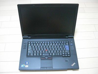 NEC特選街情報 NX-Station Blog-ThinkPad L512本体写真(電源OFF)