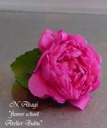 flower school アトリエぶぶ ~flower life~-新郎のブートニア