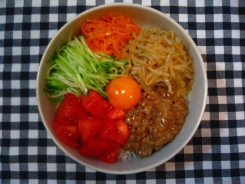 ひよこ食堂-野菜ビビンバ02