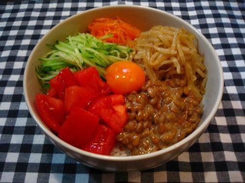 ひよこ食堂-野菜ビビンバ01