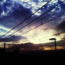 厚木駅の空