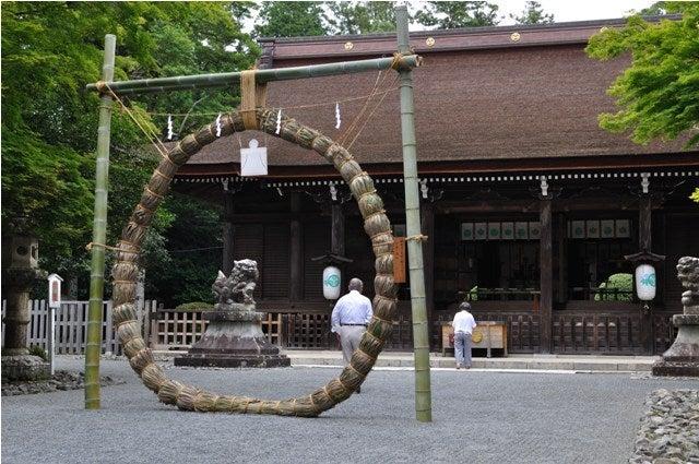 茶々吉とデジ一 のんびり旅-2010/6/30多田神社2