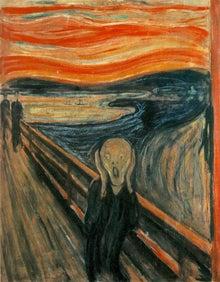 フランス絵画のアトリエドパリのブログ-ムンクの叫び