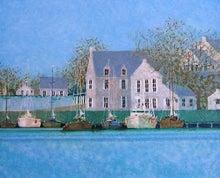 フランス絵画のアトリエドパリのブログ-青いきらめき/ブーリエ
