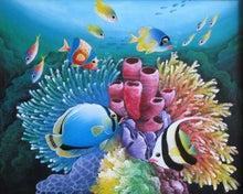 フランス絵画のアトリエドパリのブログ-サンゴ礁 作家名:ERLANGGA