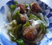 アキステの野菜料理-肉団子