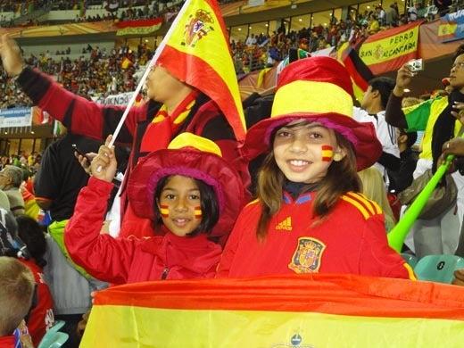 世界一蹴の旅-スペイン少女