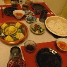 タジンとお素麺