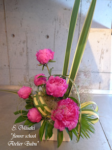 flower school アトリエぶぶ ~flower life~-misakisan