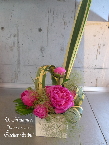 flower school アトリエぶぶ ~flower life~-hatamorisan