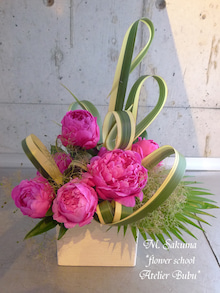 flower school アトリエぶぶ ~flower life~-sakumasan