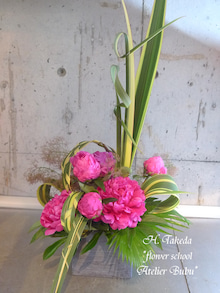 flower school アトリエぶぶ ~flower life~-h-takedasan