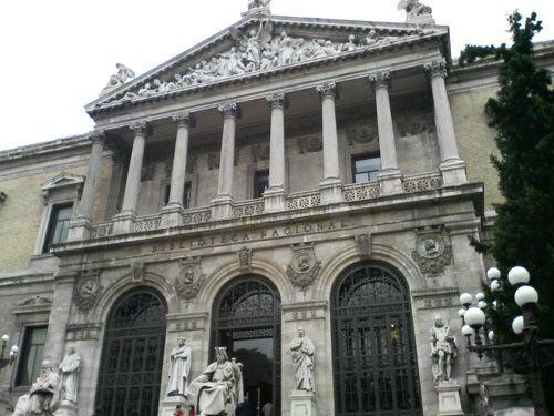 マドリードのスペイン国立図書館...