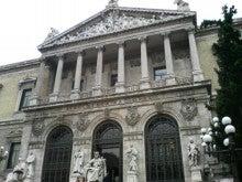 マドリードのスペイン国立図書館(Biblioteca Nacional de Espana ...