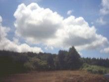 馬を愛する男のブログ Ebosi Kogen Hose Park -梅雨明けの雲