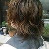髪切りましたの画像