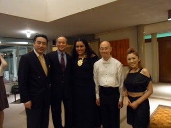 オペラなメキシコ大使公邸の夜♪ ...