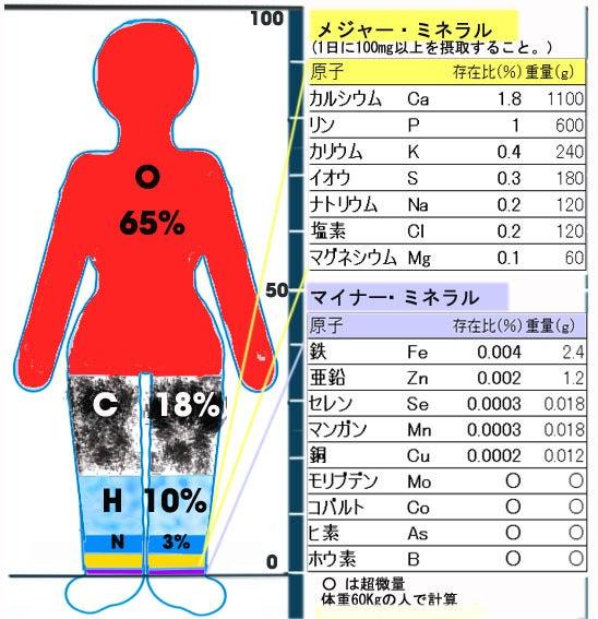 元素構成比 - JapaneseClass.jp