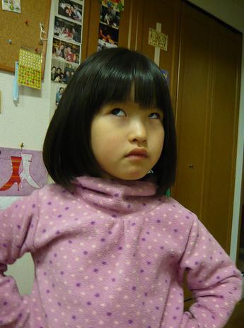 Grumpy Monkey(不機嫌なおさるさん)の観察日記-gm had haircut 12Feb2010