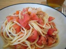 $アラサー独女的 野菜婚活-ツナとトマトの冷製パスタ