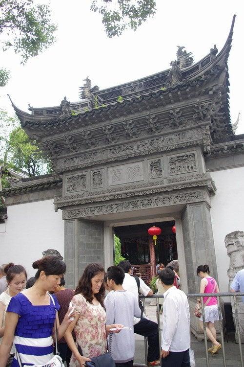 中国大連生活・観光旅行通信**-上海 豫園