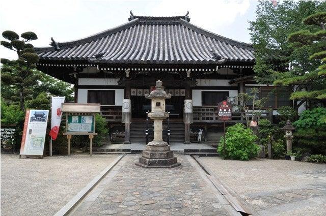 茶々吉とデジ一 のんびり旅-2010/7/27帯解寺2